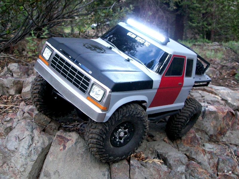 Gear head rc led light bars trek torch led light bar white made in the usa aloadofball Image collections