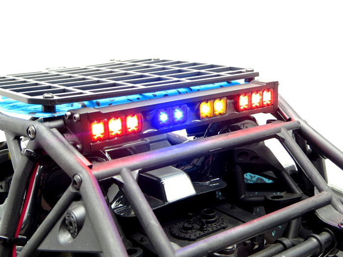 Gear head rc led light bars red led rear lights 2 in made in the usa aloadofball Image collections